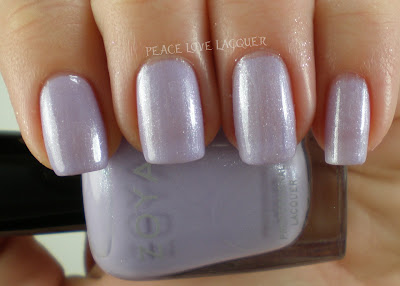 Zoya, Lovely, Julie, Purple, Lilac, Shimmer