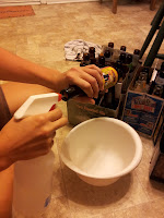 Sanitizing the bottles for homebrew