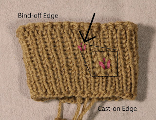 Prairie Willow Knits: Using Twisted Rib to Tighten Up Your 1x1 Rib.