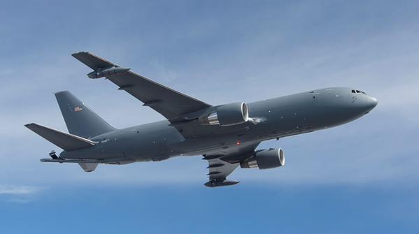 Boeing KC-46A aerial refueling tanker prototype