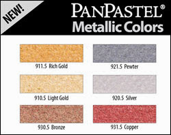 NEW METALLIC PANPASTELS