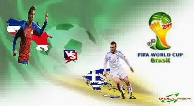 Prediksi Hasil Akhir Pertandingan Fase 16 Besar World Cup (29/06/14) : Kosta Rika Vs Meksiko