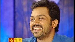 Koffee With DD Actor Karthi – Deepavali Special 02-11-2013 Full Program Viajy Tv  Watch Online Free Download