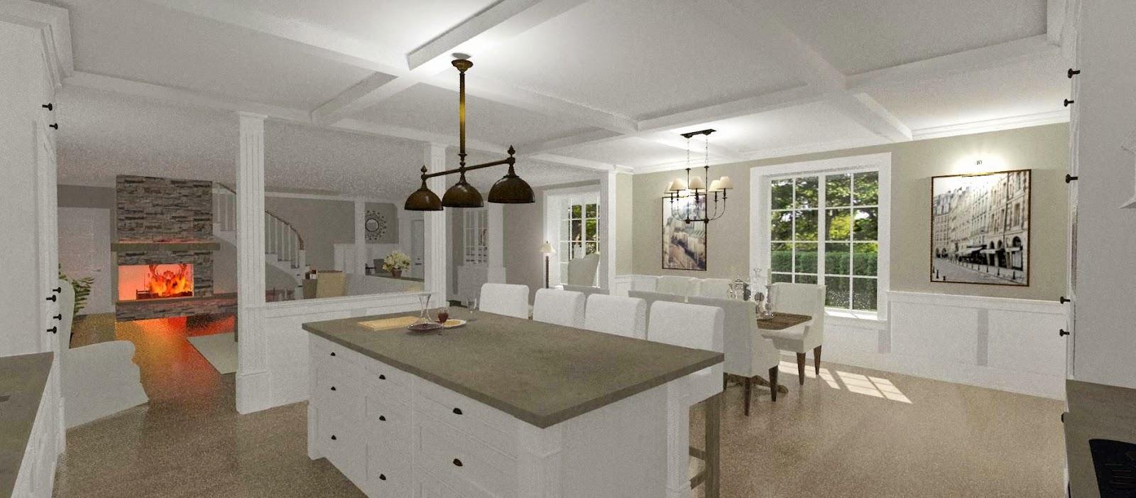 Dreams & Coffees arkitekt- och projektblogg: 1,5 plans New Englandhus
