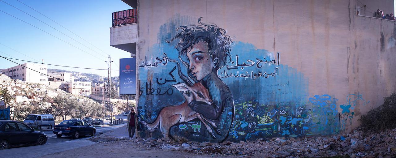 Herakut & aptART: Malen für den Frieden in Syrien