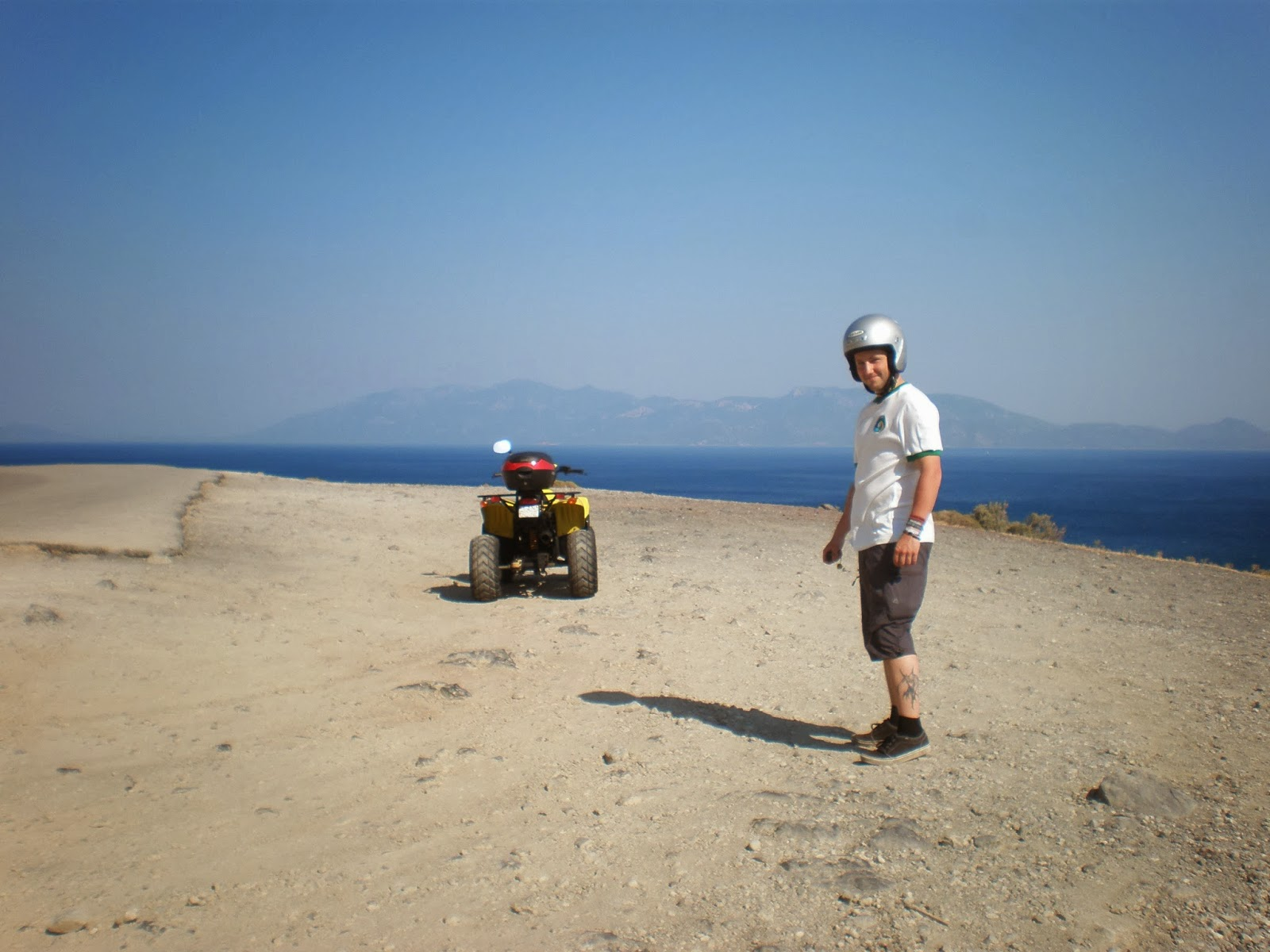 quad bike, quad biking, beach, relax, sea, sun, sand, holiday, Kos, Greece, Europe, traditional church, view, mountain, zia, lambi, kos town, beautiful view, travel, travelling, holiday, sea, sun,
