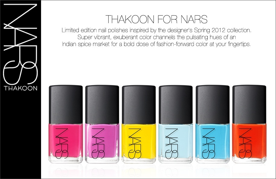 Dyno Pretty Pup Beauty Diary: Thakoon for NARS Nail Collection