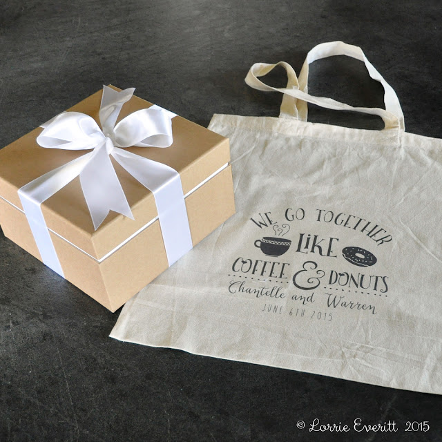 gift wrapping inspiration for a wedding gift | Lorrie Everitt Studio