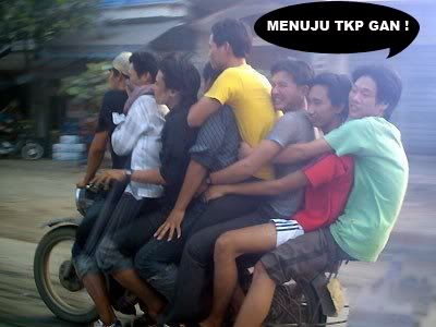 Funny People Riding Bikes