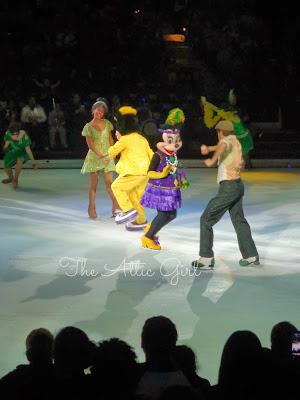 Mardis Gras, Disney on Ice, Princess Tiana, Feld Entertainment