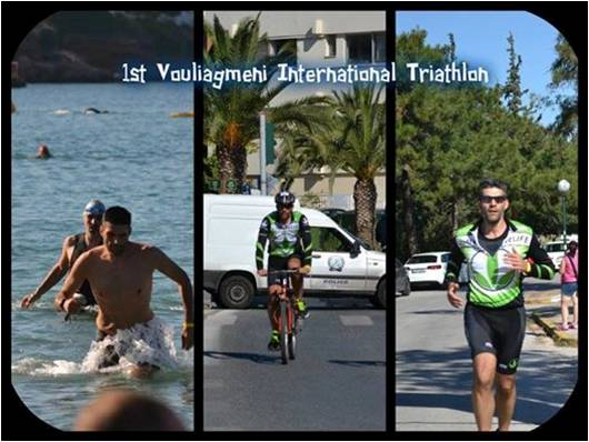 My 1st Triathlon Vouliagmeni