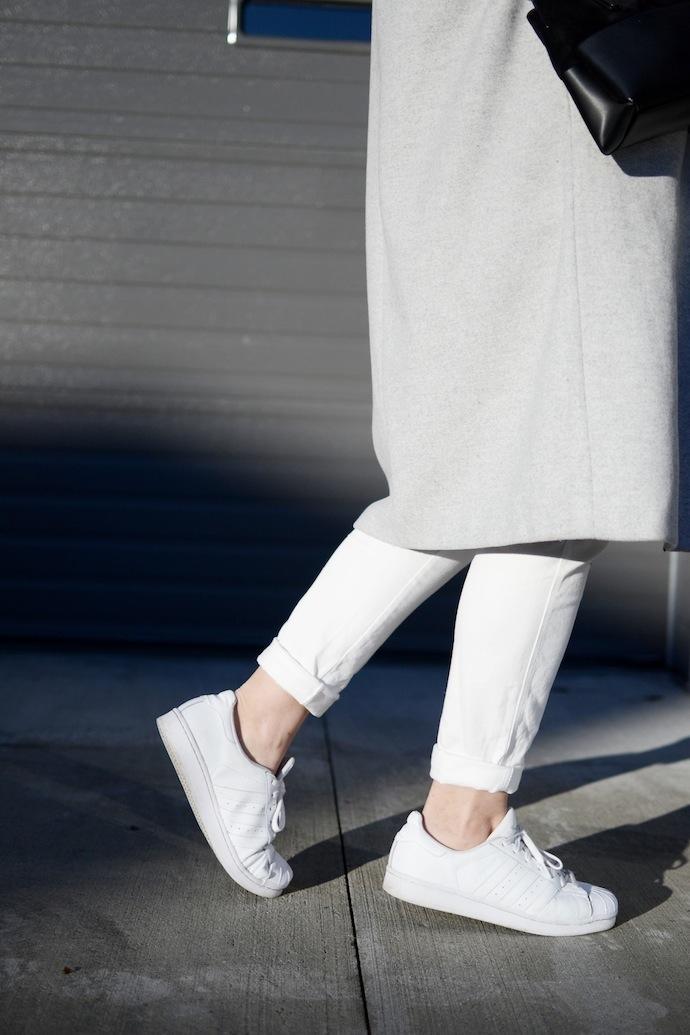 Adidas Superstar Vancouver fashion blogger