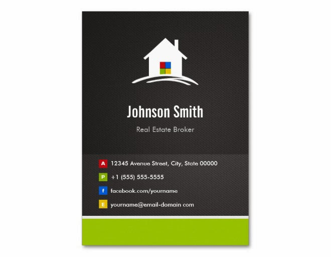 Real estate business cards graphic design blog for Business card ideas for real estate