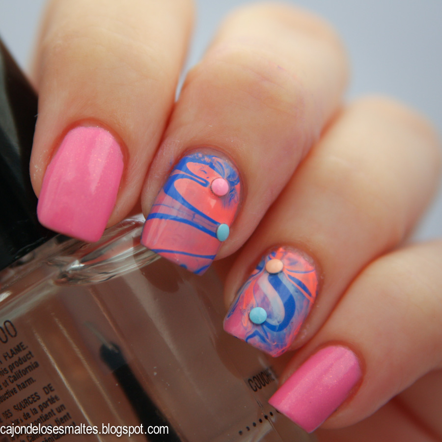 As Mascaras de BeautyColor water marble