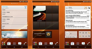 Manual Installation ROM Android 4.2.2 eXistenZv1 of the phone Xperia i1 Honami on Xperia Z