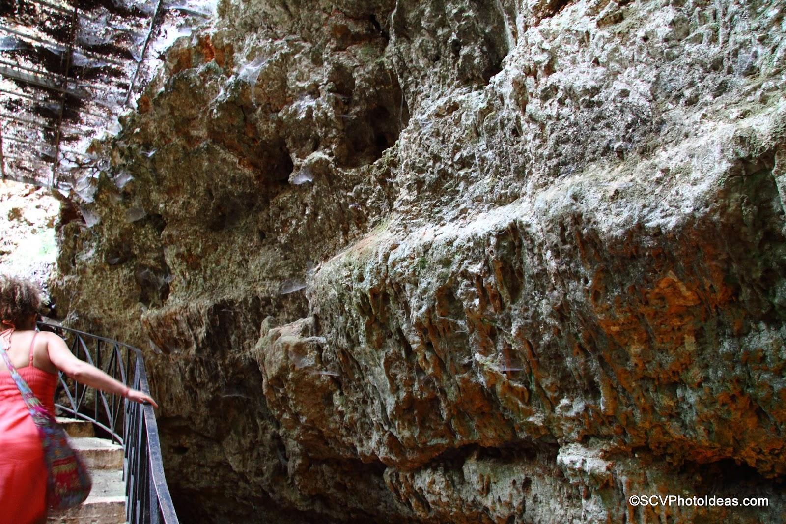 Drogarati Cave entrance walls
