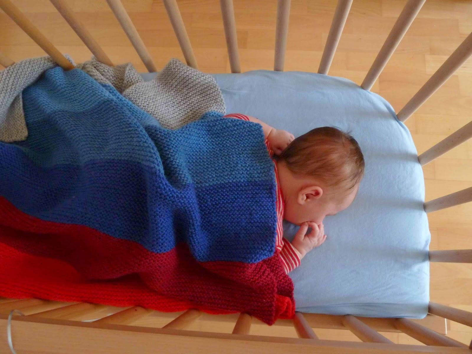 babydecke stricken