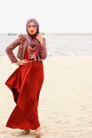 baju pesta muslimah dian pelangi