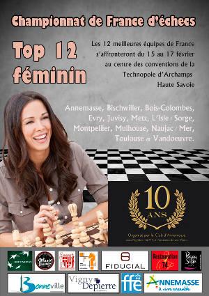 Échecs : championnat de France féminin