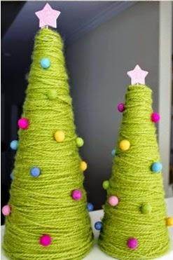 A mi manera manualidades de navidad para decorar la casa - Decorar casa navidad manualidades ...
