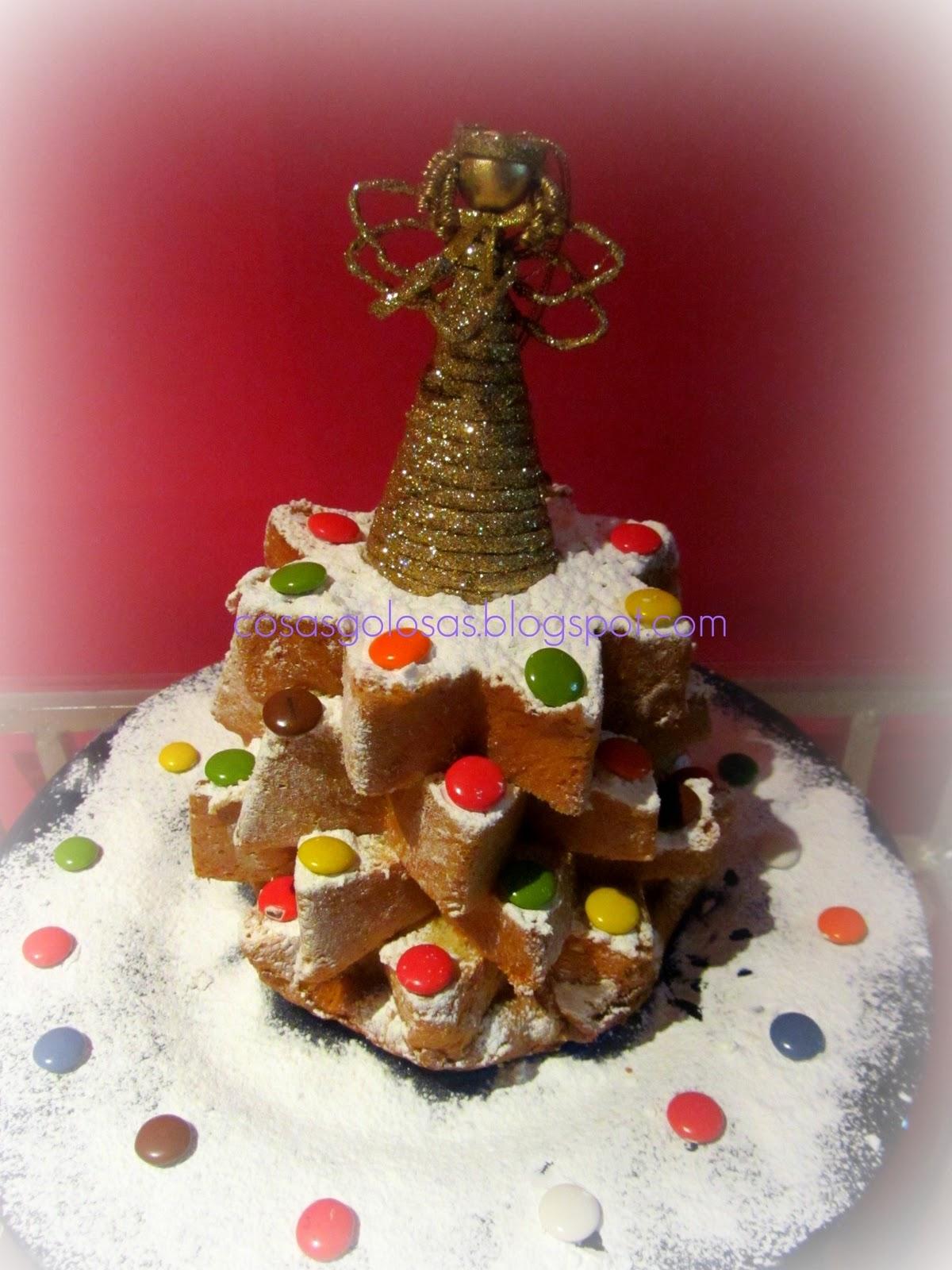 Cosas golosas decoraci n de navidad para hacer con ni os for Como hacer un arbol de navidad original