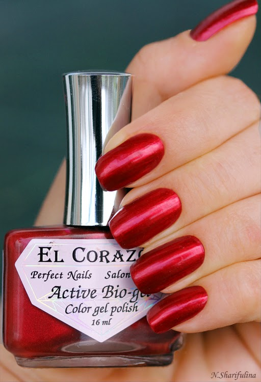 El Corazon Active Bio-gel Color Gel Polish Nail Party №423/626 Strawberry Margarita