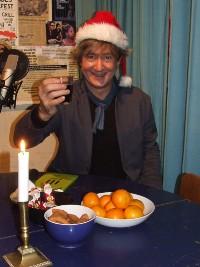 Juleaften med digter Nicolaj Stochholm. 24. december 2020