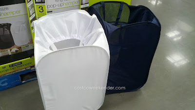 Put your dirty clothes away with the SmartWorks King Size Pop-Up Hamper