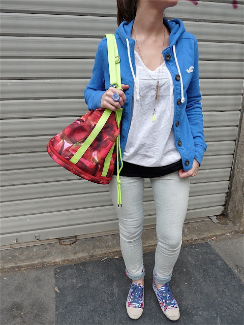 OOTD Blog Mode fashion Fashionblog Style Look Paris Hollister Pimkie Desigual 3Suisses PascaleMonvoisin