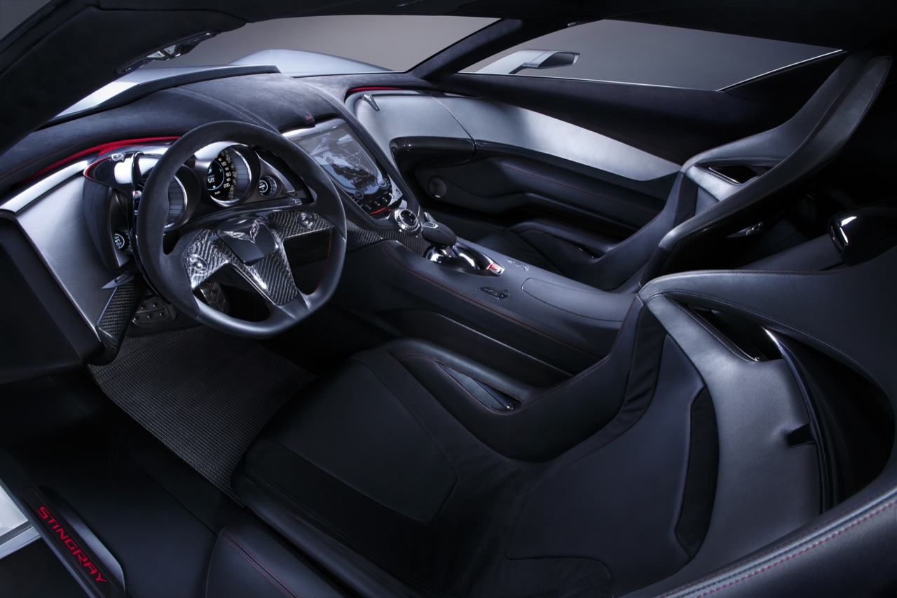 GMu0027s Head Of Product Design, Ed Welburn, Revealed That The Corvette C7 2012  Will Get A Split Rear Window Along With Some Other Style Cues Vintage. Corvette ...