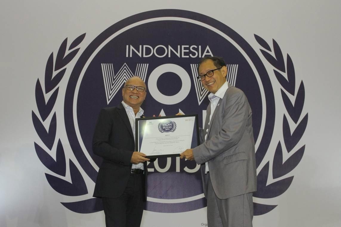 BOLT! Super 4G LTE Raih Penghargaan Indonesia WOW Brand 2015
