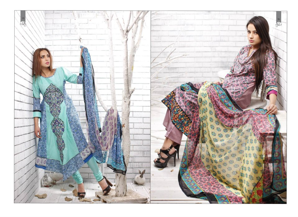 Lawn Collection 2013   Embroidered Lawn Collection of 2013 from Shariq