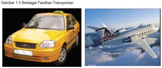fasilitas transportasi wisata