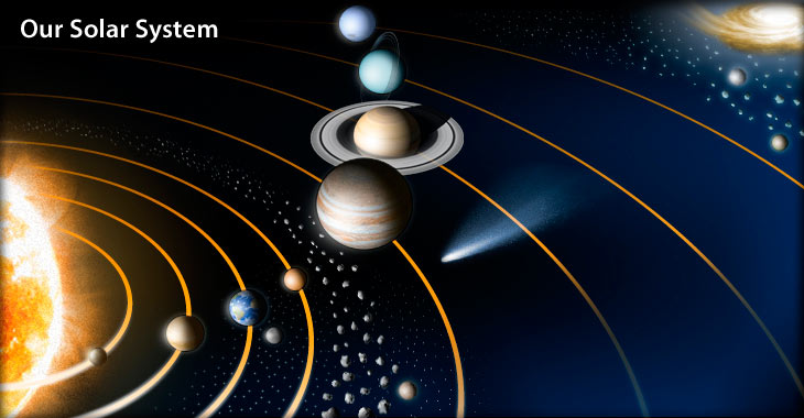 how did the solar system start - photo #26