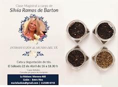 Evento de Té en Colón, Entre Ríos, 22 de abril