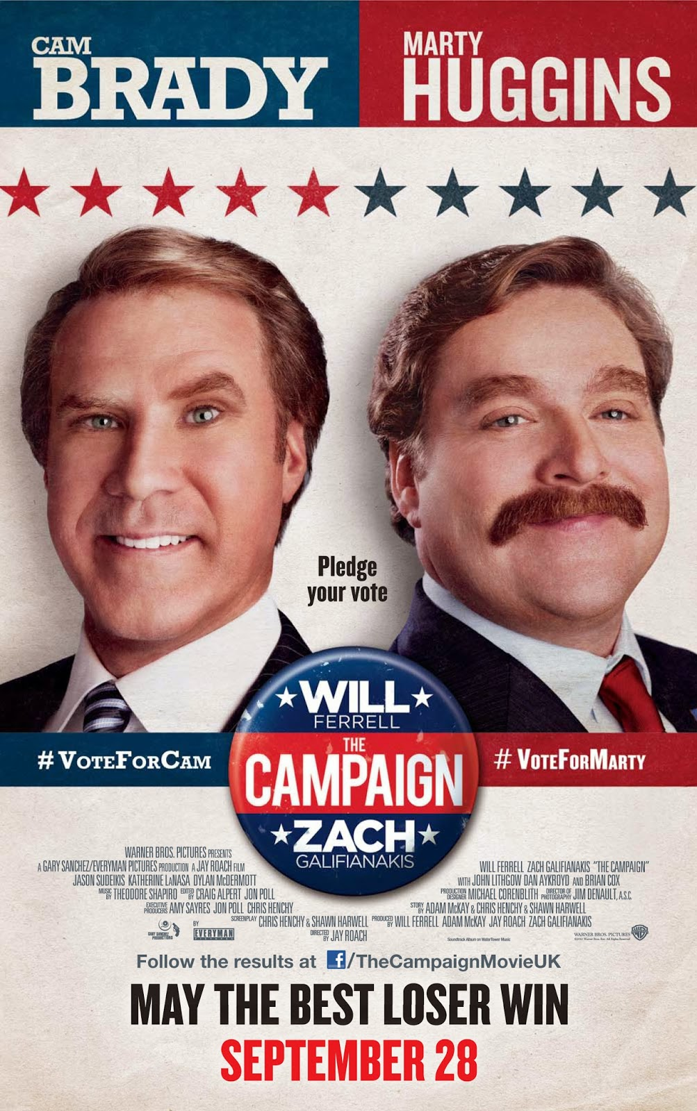 The Campaign (2012) tainies online oipeirates