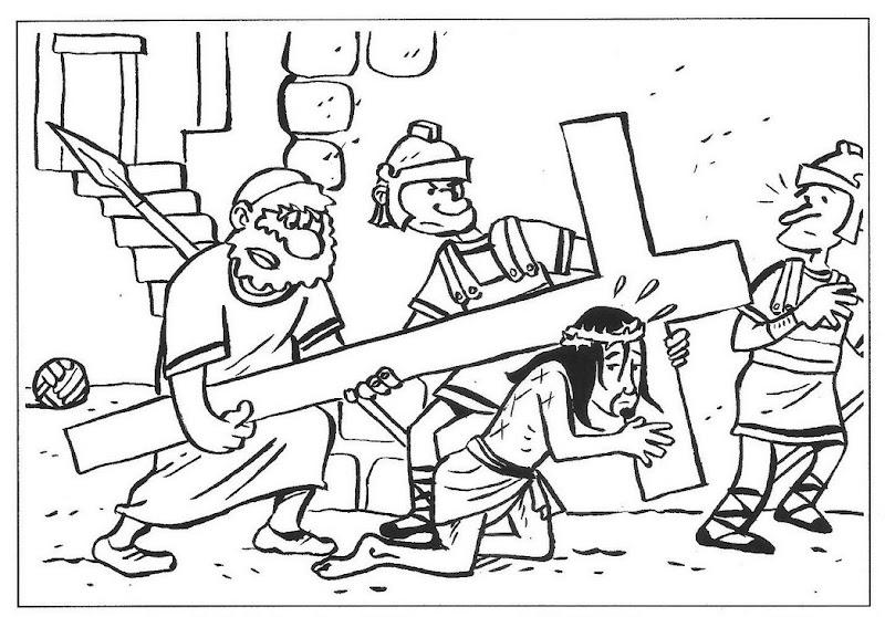 La Catequesis (El blog de Sandra): Dibujos Semana Santa para colorear