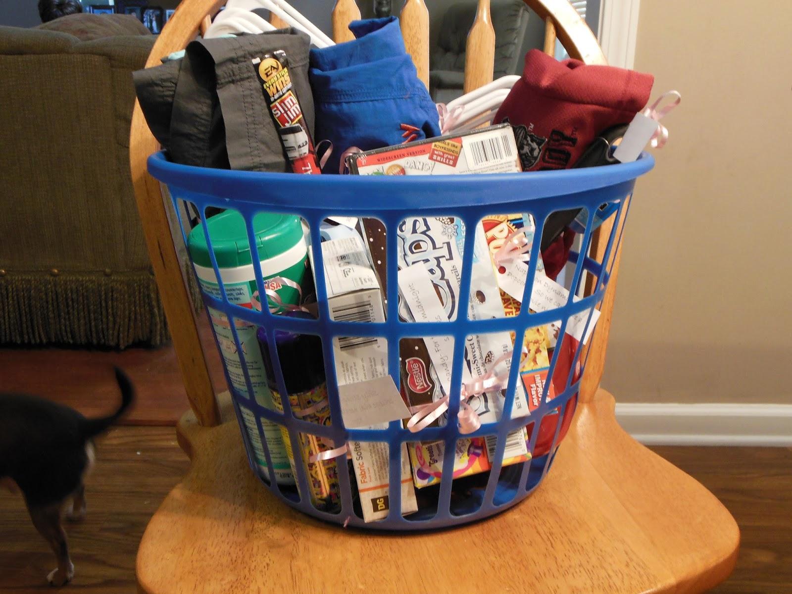 college graduation gift basket ideas
