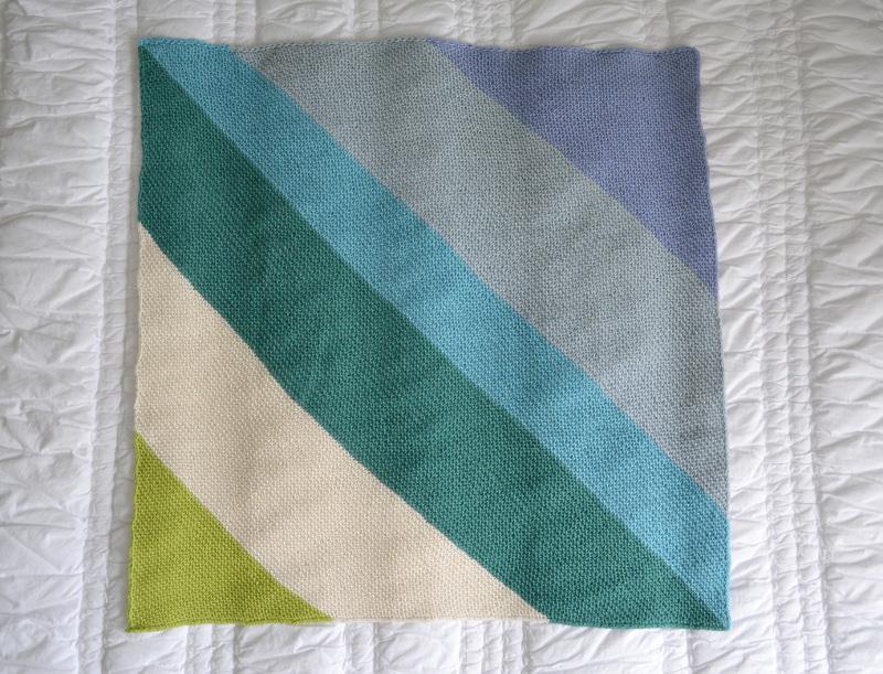 cozy birdhouse | baby blanket