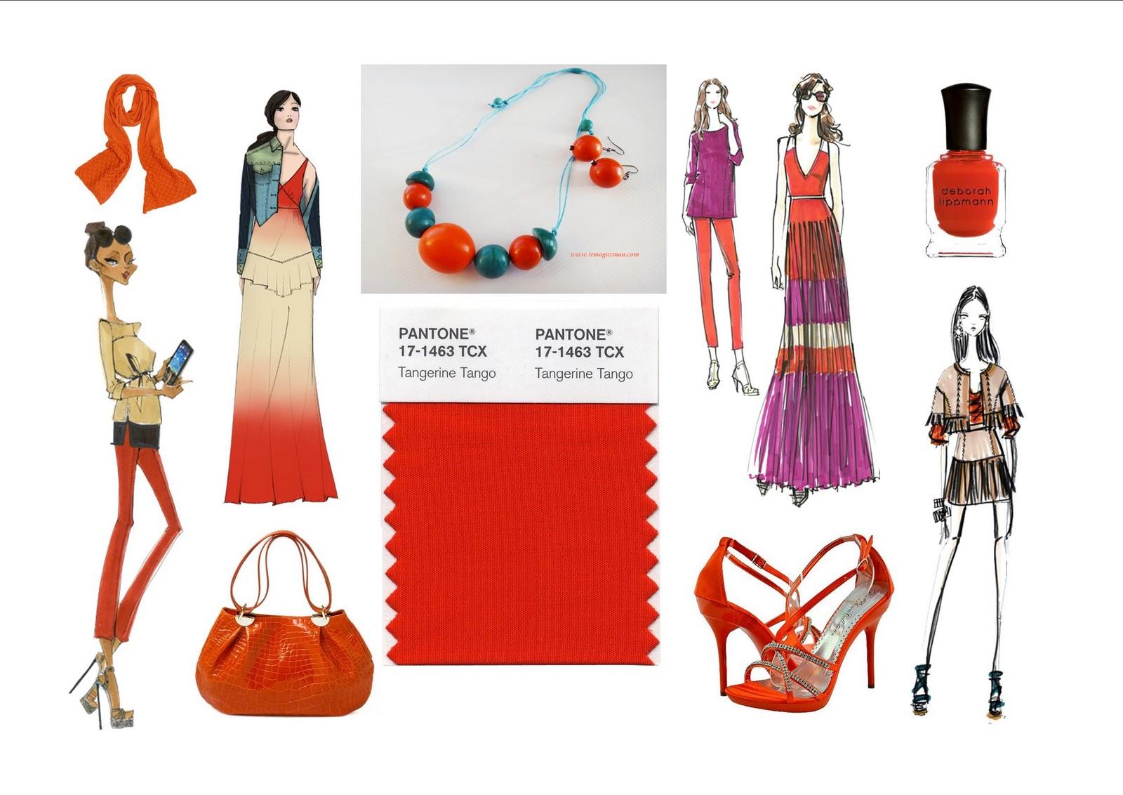 Irma Guzman Eco Jewelry: Tangerine Tango: Pantone\u0027s 2012 Color of ...