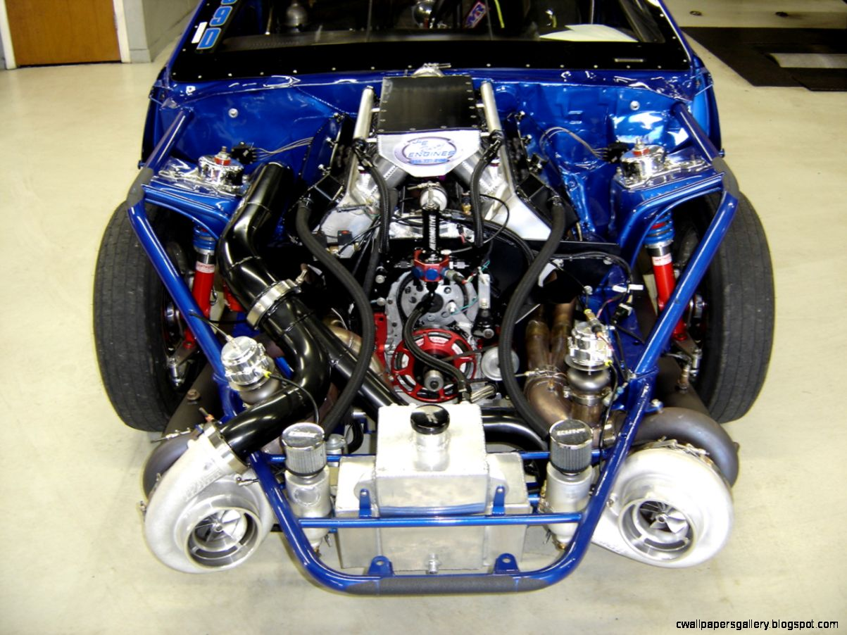 Twin Turbo Drag Car | Wallpapers Gallery