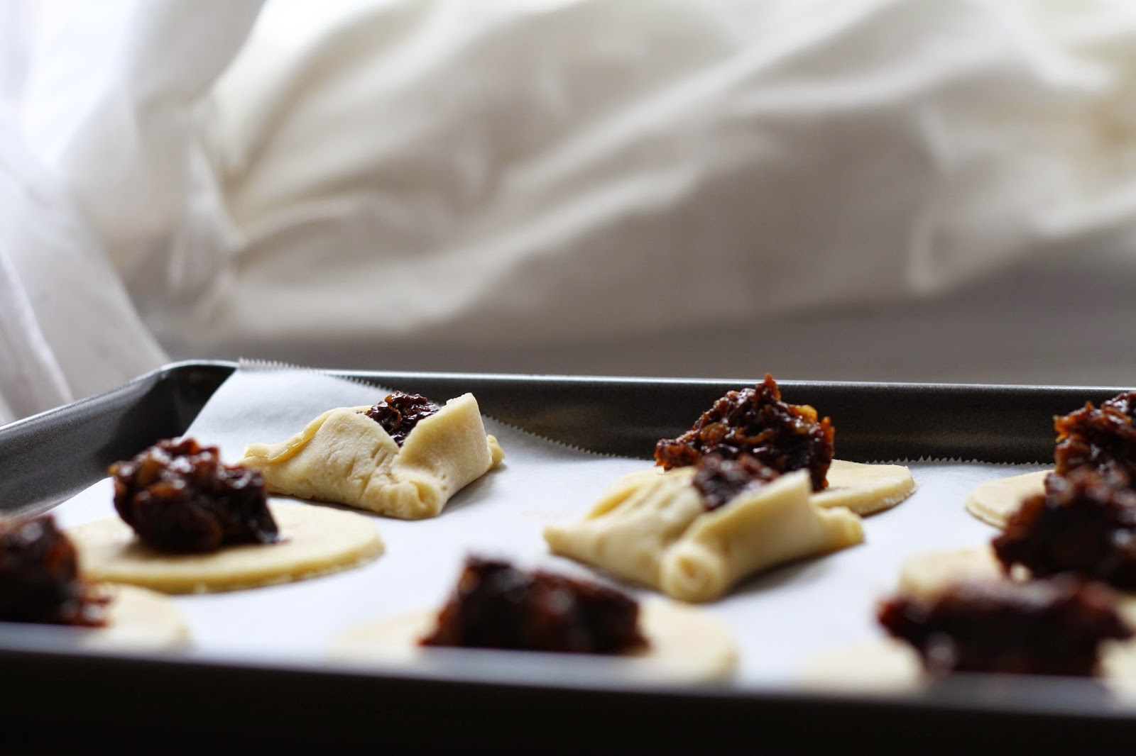 Prune, Raisin + Walnut Hamantaschen // Sevengrams