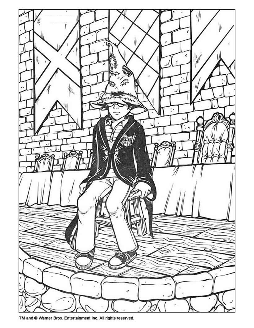 Cartoons Coloring Pages Harry