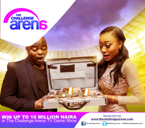 Win Up to 10 Million Naira in The Challenge Arena TV Game Show