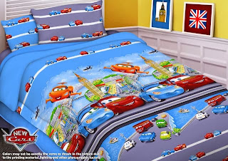 Sprei Anak Renette Motif New Cars