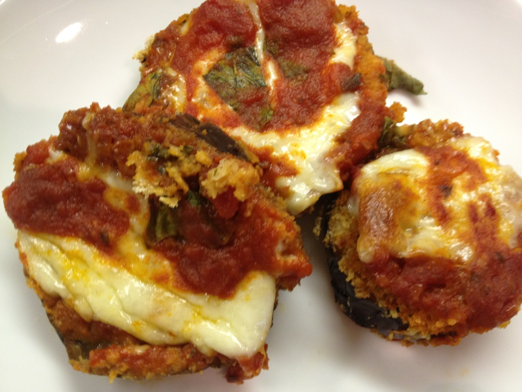 Lipp's Hip Tips: Light Eggplant Parmesan