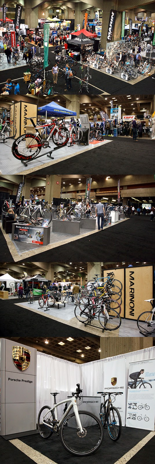 The montreal bike show last day sunday february 19 2012 for Le miroir du cyclisme