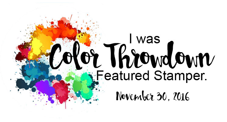 Color Throwdown #421