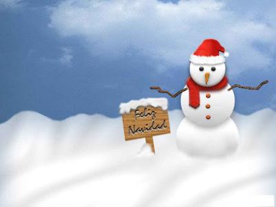 Un lindo fondo con un mensaje de feliz navidad