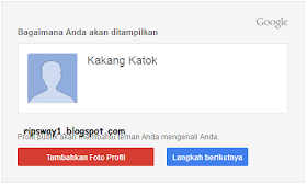 Profil Google +